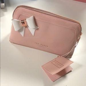 Ted banker London light pink makeup bag